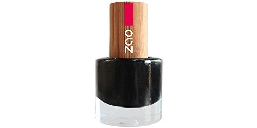 Zao - Smalto per unghie di bambù - No. 644 nero - 8 ml