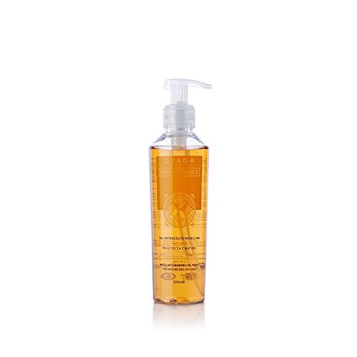 Gyada Cosmetics GEL DETERGENTE MICELLARE ANTI-AGE ● CERTIFICATO BIO ● MADE IN ITALY ● 200 ml