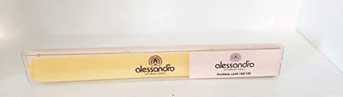Alessandro International 3 lime per unghie 180/180 delicata - per manicure, nail art unghie gel semipermanente, estetica mani, prodotto professionale