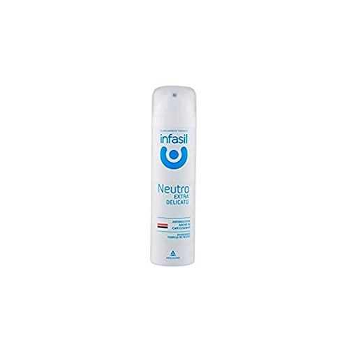 Set 6 INFASIL Deodorante Spray Extradelicato Neutro Ml 150 Cura E Igiene Del Corpo