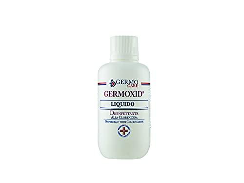 Germoxid Liquido Disinfettante per la Cute Integra alla Clorexidina, Scatola da 12 Flaconi da 250 ml