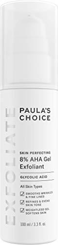 Paula's Choice Skin Perfecting Gel Esfoliante Viso 8% AHA - Peeling Antirughe, Antimacchie e Elimina Pelle Morta - con Acido Glicolico - Tutti i Tipi di Pelle - 100 ml