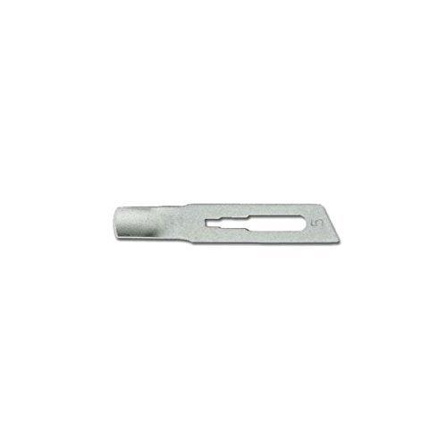 Lame Sgorbie Sterili Inox - misura 5 mm - Scatola 12 pz.