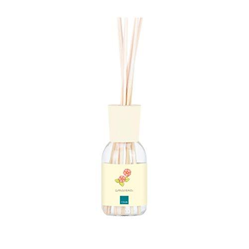 THUN - Diffusore Amarena - Profumazione Ambiente, Diffusori - Idea Regalo - Linea Country - Vetro, Bacchette in bambù, Essenza all'Amarena - 250 ml