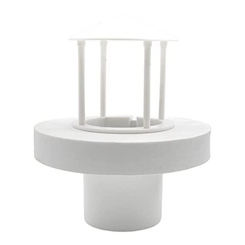 Generic Piccola Luce LED Ad Ultrasuoni Galleggiante Mist Maker Acquario Pet Rettile Serbatoio di Pesce Rocaille Nebulizzatore di Mister Macchina di Aria