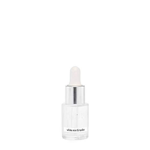 Millefiori Idrosolubile, da Utilizzare con Diffusore di Fragranza per Ambiente ad Ultrasuoni Hydro, White Mint & Tonka, 15 ml
