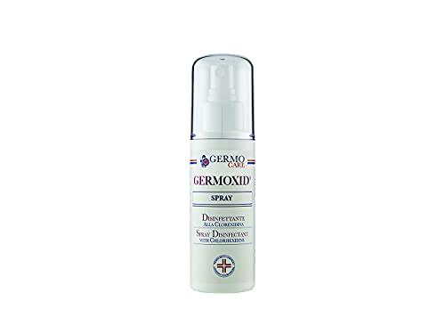 Germoxid Spray Disinfettante Ecologico alla Clorexidina, Scatola da 12 Flaconi da 100 ml