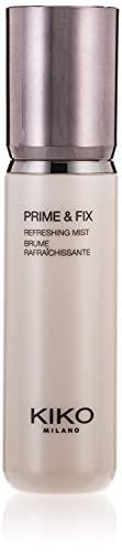 KIKO Milano Prime & Fix Refreshing Mist | Spray Multi-Funzione: Primer Rinfrescante e Fissatore Make-Up 2-in-1