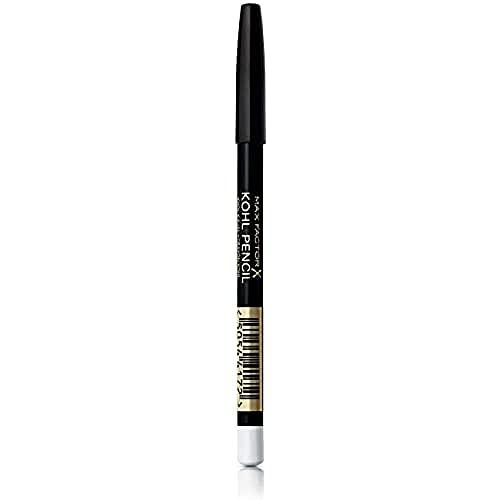 Max Factor, Matita Occhi Kohl Eyeliner Pencil, Kajal con Texture Ultra Morbida, 010 White, 1.2 g