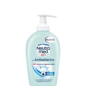Set 12 NEUTROMED Sapone Liquido Antibatterico 300Ml Nuovo Cura E Pulizia Del Corpo