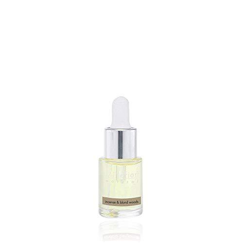Millefiori Idrosolubile, da Utilizzare con Diffusore di Fragranza per Ambiente ad Ultrasuoni Hydro, Incense & Blond Woods, 15 ml