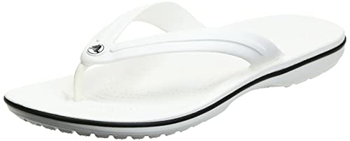 Crocs Crocband Flip Unisex - Adulto Flip, Infradito, Bianco (White), 36/37 EU