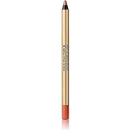Max Factor Colour Elixir Lip Liner Matita Labbra, Lunga Durata, 014 Brown&Nude, 1.2 g