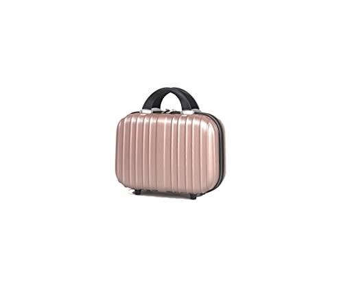Beauty Case - Vanity Case Materiale Rigido - 13pollici - 5832 oro rosa