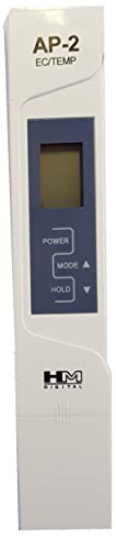 HM Digital AP-2 Originale Misuratore AP-2 Professionale, Tester per l'acqua Combo Meter EC/TEMP µS & C°