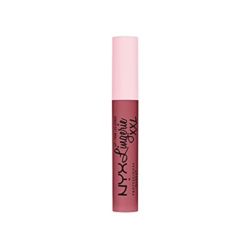 NYX Professional Makeup Lip Lingerie XXL, Rossetto liquido Matte a lunga tenuta, Formula vegana, Flaunt It
