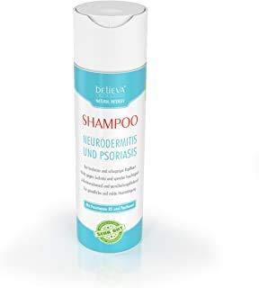 Believa Natural Intensiv - 100% Vegan Shampoo per il Sollievo di Neurodermite e Psoriasis - Efficace contro il cuoio capelluto secco e pruriginoso - 200ml