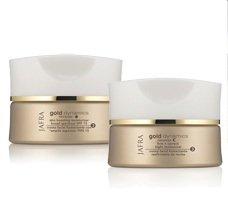 Jafra Cosmetics, Set Gold Dynamics cura idratante giorno e notte, 2 pezzi