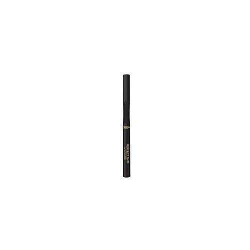 L'Oréal Paris MakeUp Eyeliner in Penna Superliner Perfect Slim, Punta di Precisione, Applicazione Facile, Nero, Confezione da 1