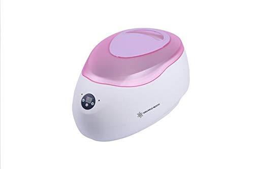 Digital bagno di paraffina da 2,5 litri a mano con la faccia tappo viola e piedi tutto il corpo