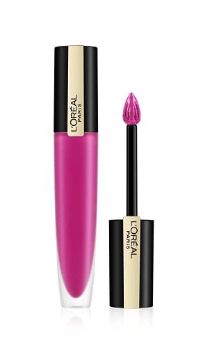 L'Oréal Paris Tinta Labbra Rouge Signature, a Lunga Tenuta, Formula Leggera e Finish Extra Matte, 106 I Speak Up, 8,5 ml