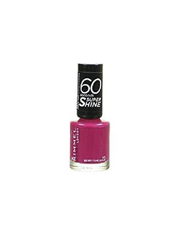 Rimmel 60 Seconds Super Shine Smalto colore 931 Berry fabulous 8 ml