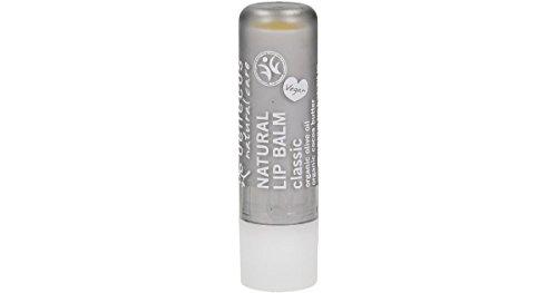 BENECOS Lip Balm Classic - Balsamo Labbra Idratante e Lenitivo - Labbra Secche e Screpolate - Gusto Neutro - Vegan - 4,80 gr