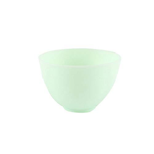 Upkotch, ciotole in silicone colorate, per cereali, condimento, ciotole per riso, ciotole 12,5 x 8 cm, colore: rosa s Verde