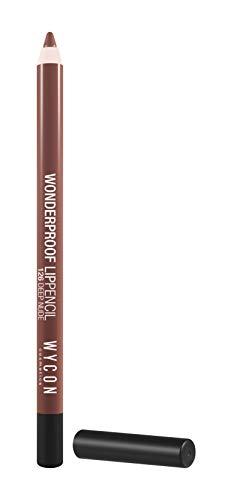 WYCON cosmetics WONDERPROOF LIP PENCIL 126 deep nude