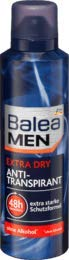 Balea Men Deo Spray Antitraspirante Extra Dry, 1 x 200 ml