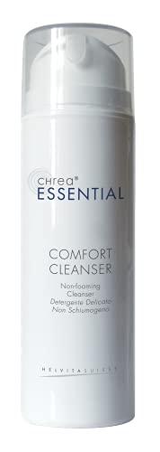CHREA ESSENTIAL COMFORT CLEANSER 150 ML - Detergente viso-occhi a base di olio di riso esterificato. Swiss beauty made in Italy.