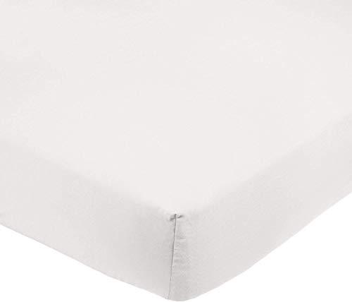 Amazon Basics AB Microfiber, Microfibra di Poliestere, Crema, 200x30cm