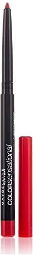 Maybelline New York Color Sensational Shaping Lip Liner Matita Labbra, Effetto Volumizzante, 80 Red Escape