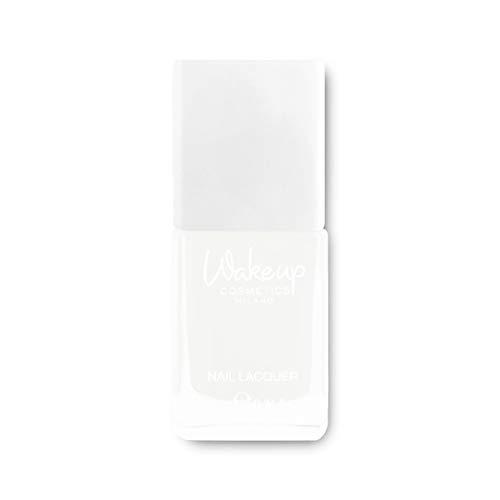 Wakeup Cosmetics Milano smalto Calcium Milk Enamel, trattamento che stimola la ricrescita delle unghie, altamente idratante