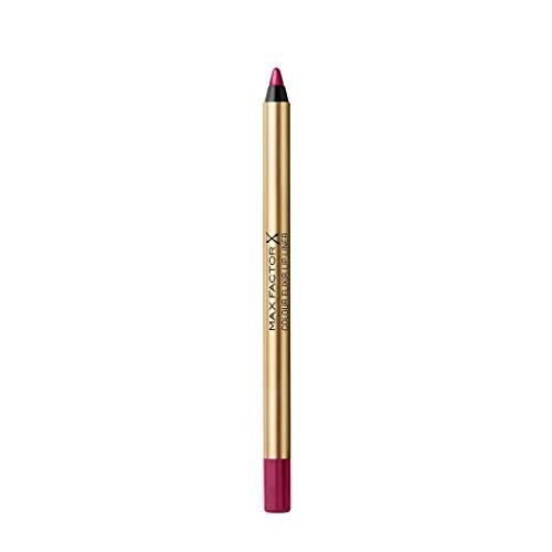 Max Factor Colour Elixir Lip Liner Matita Labbra, Lunga Durata, 18 Berry Kiss, 1.2 g