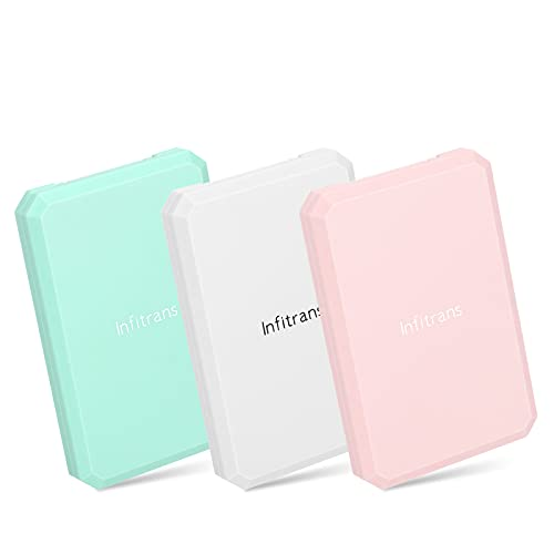Infitrans Specchio da tavolo, specchio per il trucco quadrato per borsette Specchio tascabile piccolo Specchio portatile bifacciale con ingrandimento - Confezione da 3