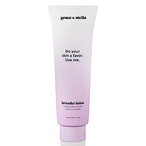 Lavanda Crema per il corpo per uomini e donne che hanno, pelle secca e sensibile, grandi 470 ml , regalo per donne