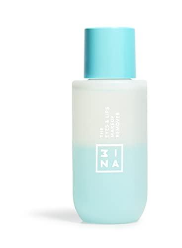 Vegano - Cruelty Free - The Eyes & Lips Makeup Remover - Struccante Bifasico Delicato Viso e Occhi Waterproof - Idratante - Per Tutti i Tipi Di Pelle