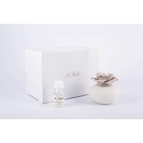 Bomboniere Matrimonio Nozze sposi Profumatore Rosa Porcellana con Box DGS51186