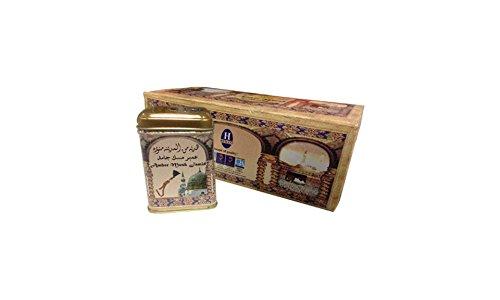 Hemani Amber Musk Jamid - Sapone Amber solido di qualità superiore, 25 g