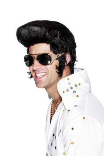 SMIFFYS - Occhiali da Elvis, colore: Oro
