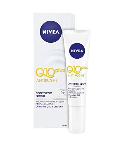 NIVEA Q10 Power Antirughe Contorno Occhi, 2 Confezioni da 15 ml