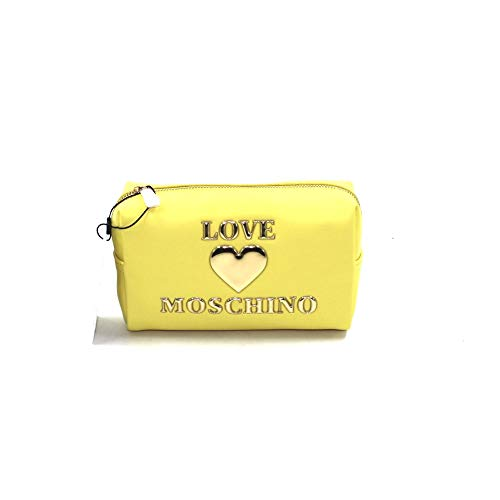 Love Moschino NECESSAIRE BEAUTY JC5307PP1CLF0400 GIALLO MINI BIOSA BORSE