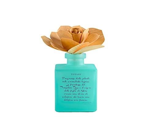 L'Amande Profumatore D'Ambiente Tiffany Con Rosa In Betulla - 200 ml