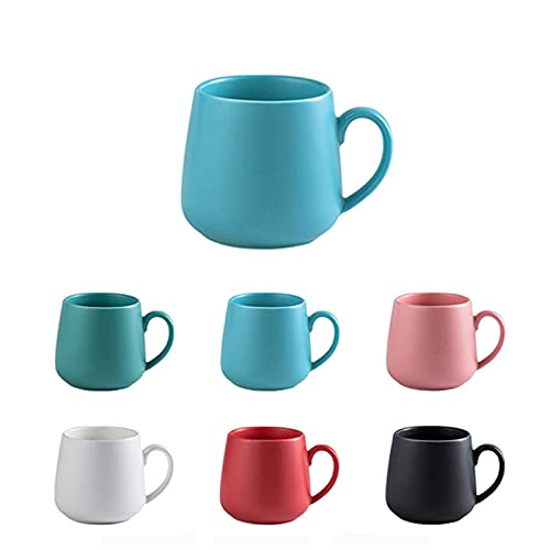 7 tazze in ceramica smaltata online tazza in porcellana opaca colorata opaca tazza latte farina d'avena