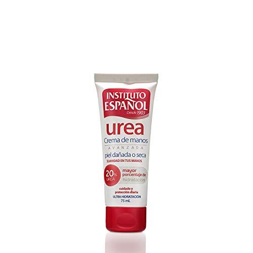 Instituto Español Urea Ultra Hidratación Crema riparatrice avanzata per pelli ruvide o secche, 20 %, 75 ml