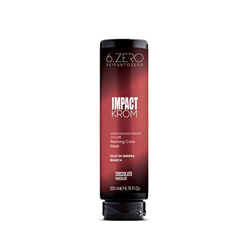 6.Zero Impact Krom Maschera Ravvivante Colore 200ml (Cioccolato)