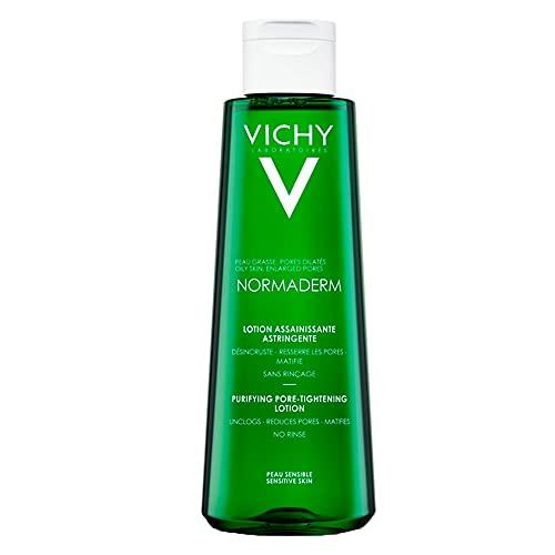 Normaderm Tonico astringente di Vichy, Tonico detergente Donna - Flacone 200 ml