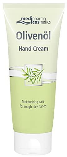 Medipharmacosmetics Crema mani riparatrice per mani secche e screpolate con olio d'oliva. Crema idratante mani Doliva olivenol 100ml
