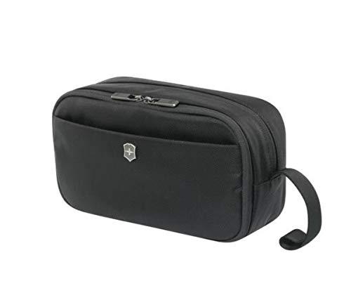 Victorinox Werks Traveler 6.0 Toiletry Kit - Beauty case spazioso facile da pulire - Portacosmetici - 15x30x16cm - 7l - 0,2Kg - Nero